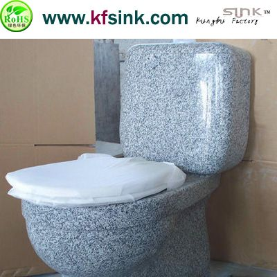 G603 Grey Granite Stone Toilet
