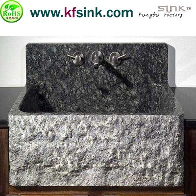 Grey Granite Kitchen Stone Basin