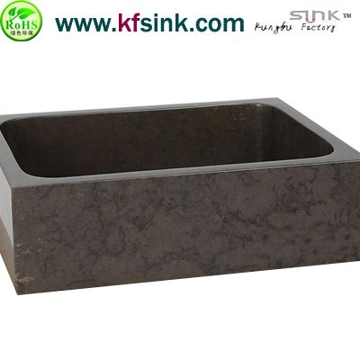 Rectangle Limestone Kitchen Stone Sink