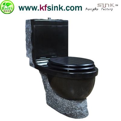 Shanxi Black Grnaite Bath Toilet