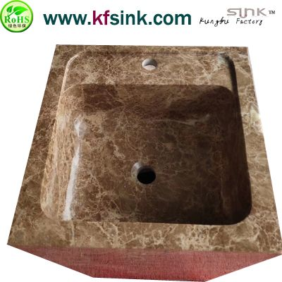 Light Empeardor Marble Sink Pedestal