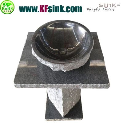 Freestanding G654 Grey Granite Sink