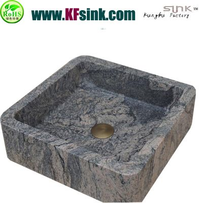 Juparana Grey Granite Sink Bowl