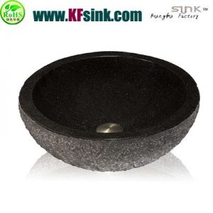 Black Galaxy Granite Sink