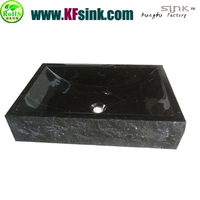 Nero Marquina Marble Kitchen Sink