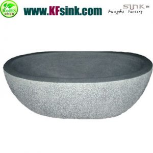 Cheap Grey Granite Stone Bathtub