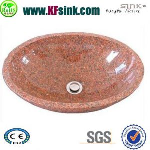 Red Granite Sink For Garden