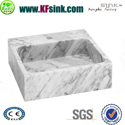 Italian Bianco Marble Kitchen Sinks