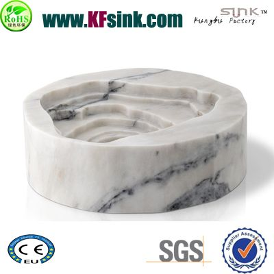 Landscape Marble Bathroom Sink