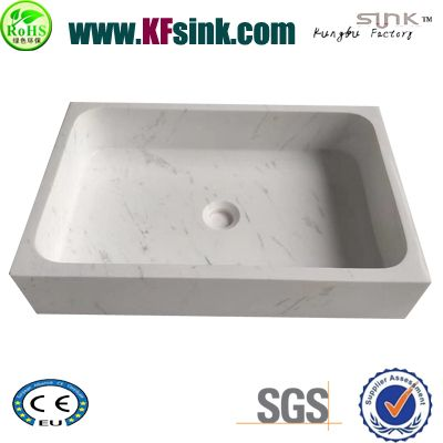 Valakas White Stone Wash Basin