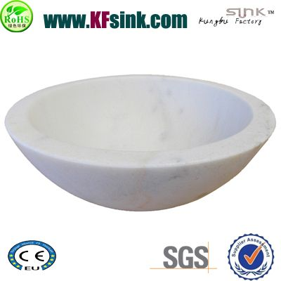Guangxi White Marble Sink Bowl