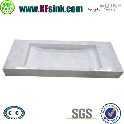 Carrara Stone Vessel Sink