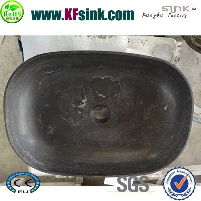 Blue Soapstone Sink Bowl