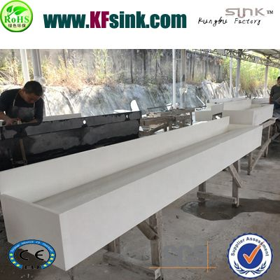 White Artificial Stone Sinks