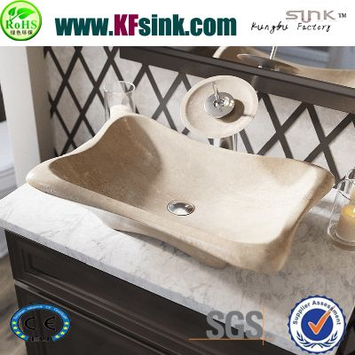 Bathroom Marble Vessel Sinks