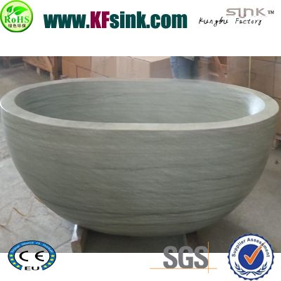 Bathroom Stone Marble Freestanding Bath Tub