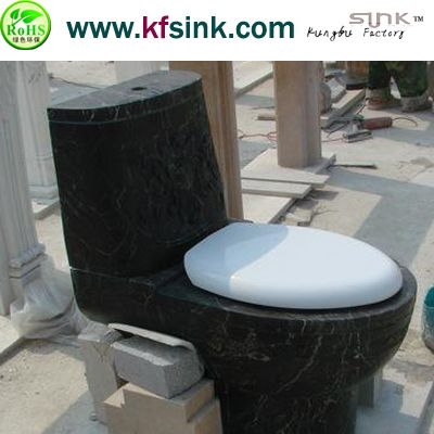 China Brown Marble Toilet