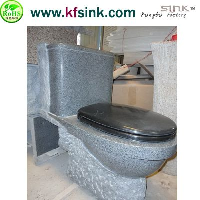 Grey Granite Stone Toilet