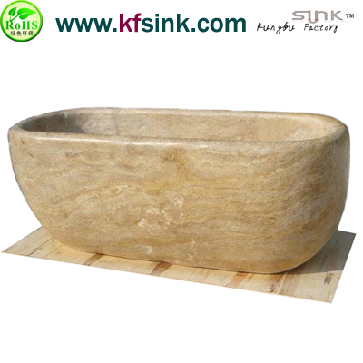 Yellow Marble Bathtub Surround Ship