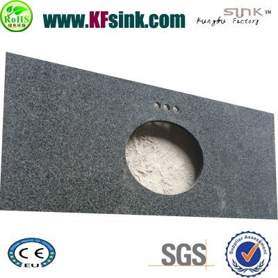 Impala Black Granite Vanity Top