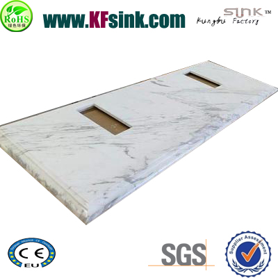 Export Greece White Marble Vanity Top