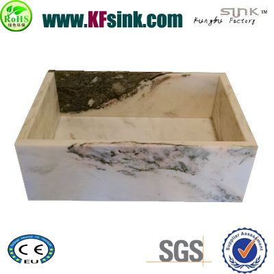 White Marble Sink For Farm