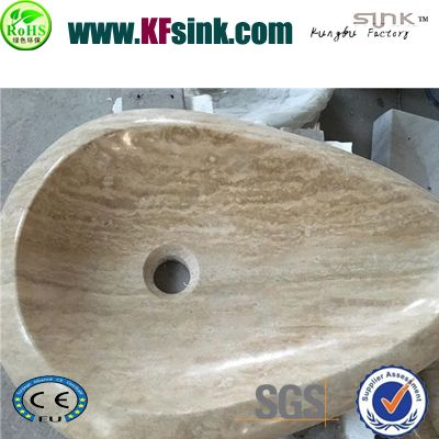 Beige Travertine Washing Basin