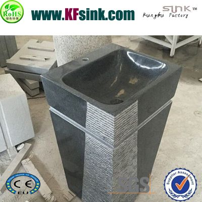 G654 Granite Pedestal Basins