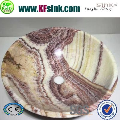 Tiger Onyx Stone Wash Basin