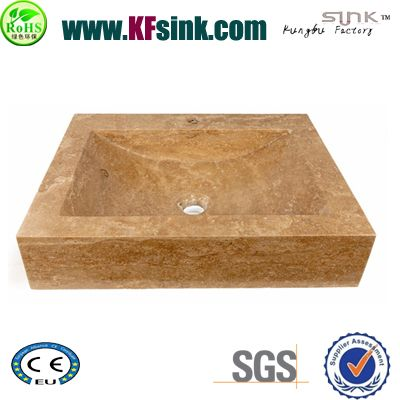 Beige Travertine Basin Polish